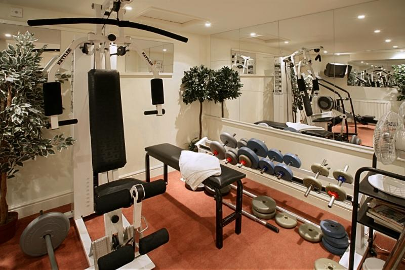 The Cellars Workout Room - for the exclusive use of guests staying here