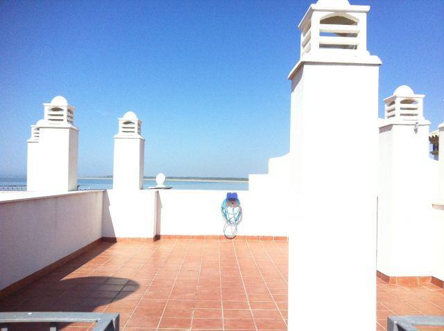 Terraza ático libre y con vistas impresionantes