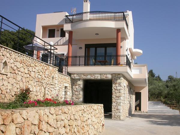 Villa Artemis- the facade