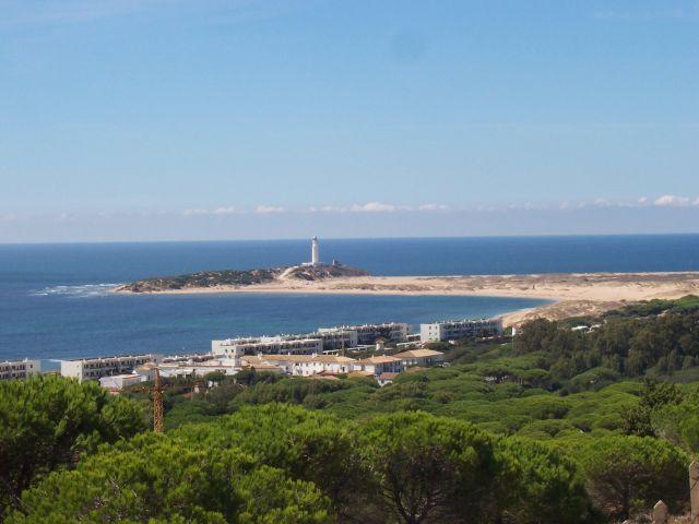 Entorno/Localidad El Faro Trafalgar desde el Pinar-sus playas son unicas-arena fina-agua cristalina