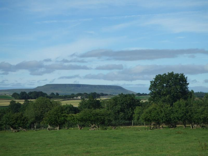 View of Penhill from adjoining field