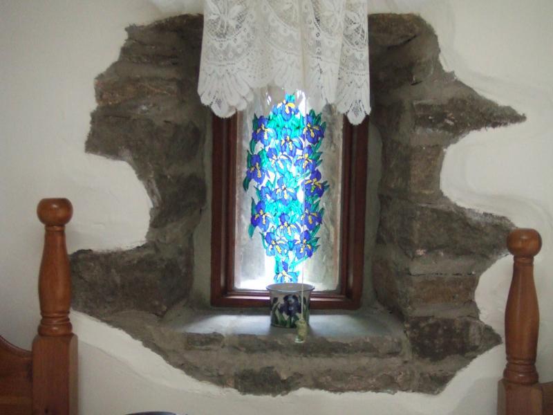 Window in twin bedroom