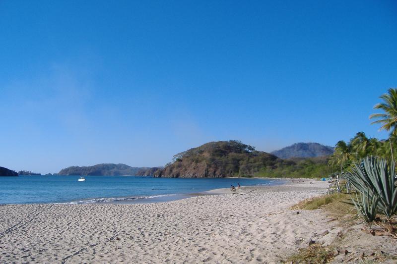 La playa/beach, 500 meters from the village