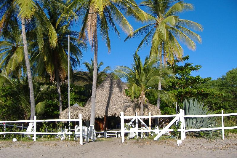 The rancho del Playa Penca Village