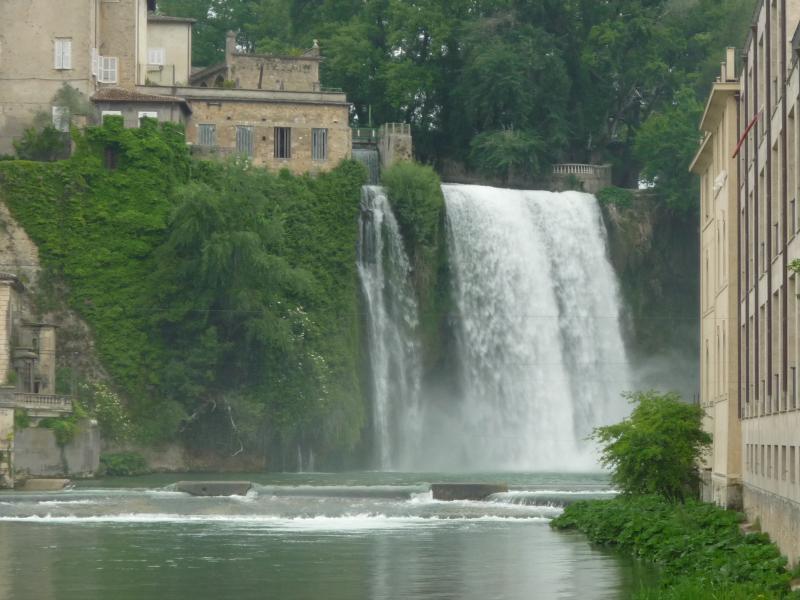 Isola del Liri-Wasserfall