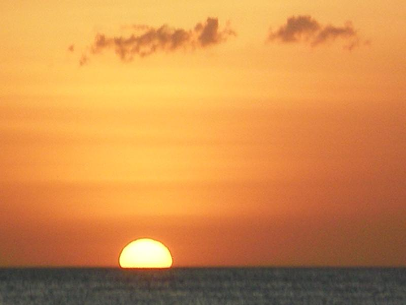 Sunset/Sunset in Playa Penca, 800 meters from the House