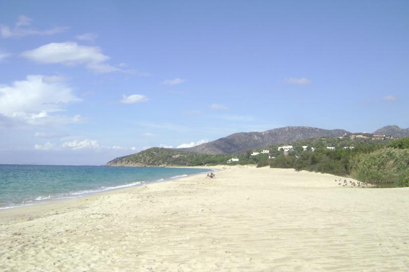 The beach on a winter day, always sunny!!!