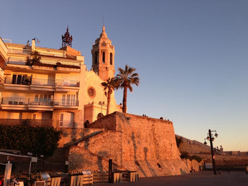Luxury Apartment In Sitges Has Balcony And Grill Updated