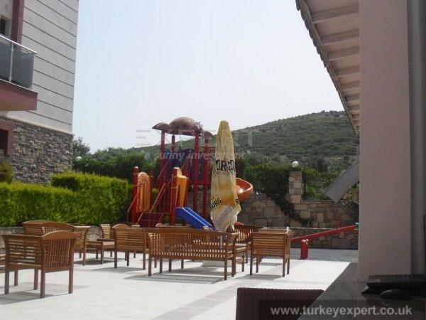Kiddies outdoor play area