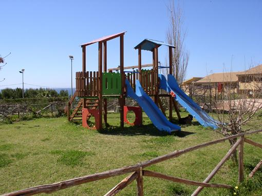Playground inside the residence
