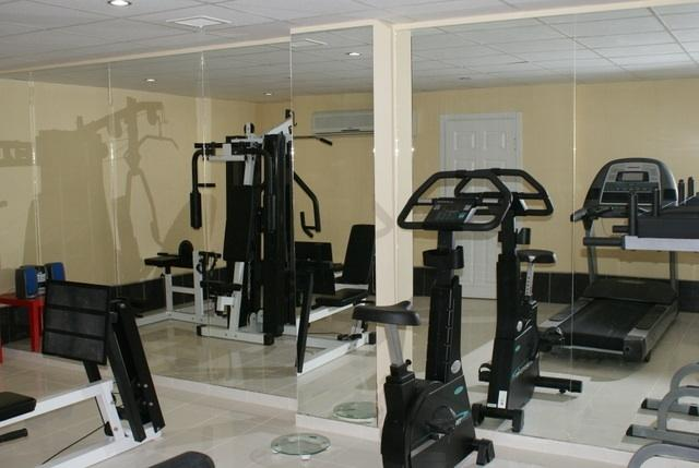 Whispering sands gym