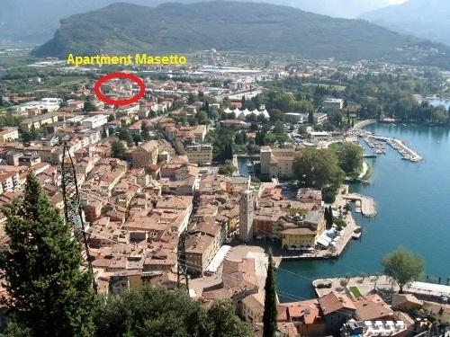 view of Riva del Garda showing placement Holiday apartment