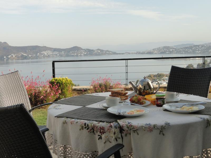 Breakfast on the Terrace - 180 Degree Sea View