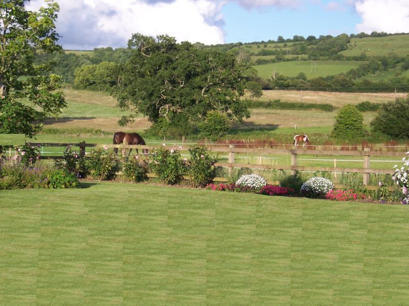 Vues de la belle campagne anglaise.