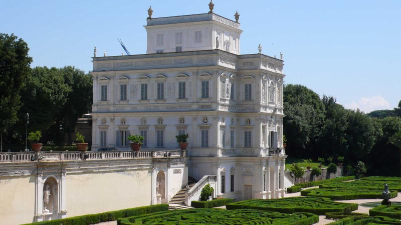 Villa pamphili park