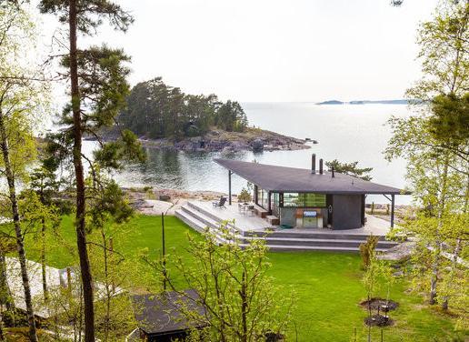 The beach house.