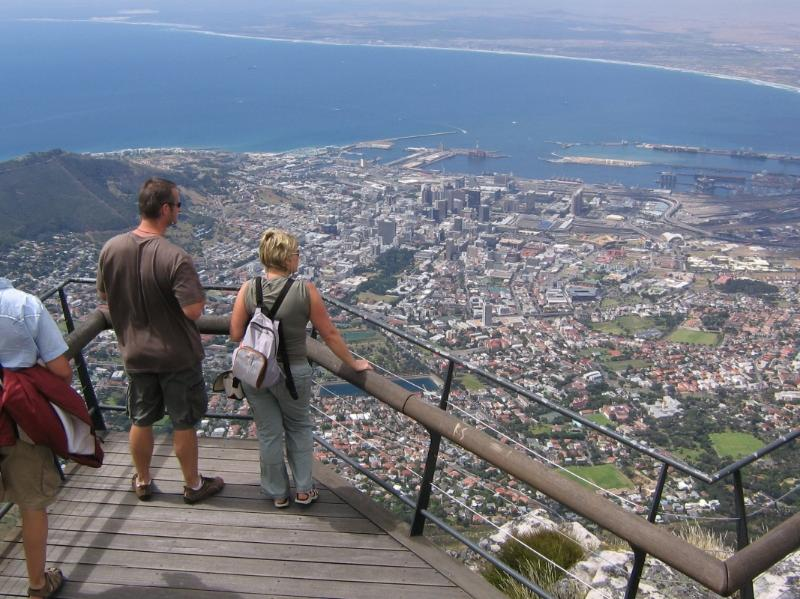 Our Area - View to Cape Town from Table Mountain