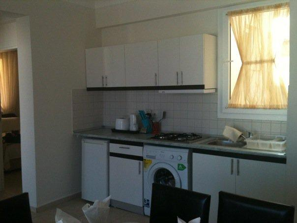 The kitchen area has all the appliances you will need to enjoy your stay
