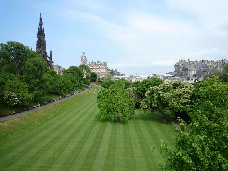 Princes St Gardens (only 10 minute walk from apartment)