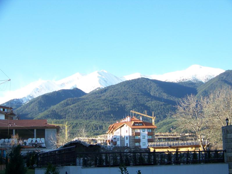 View of mountains from BRT