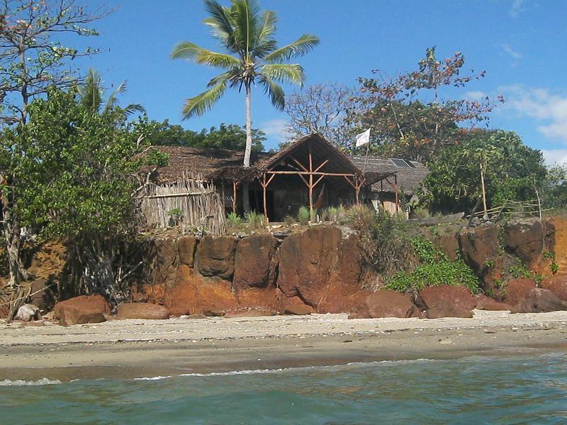 la maison sur la falaise en bord de mer