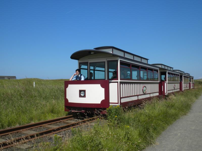 Historic Railway From Bushmills To Giant's Causeway
