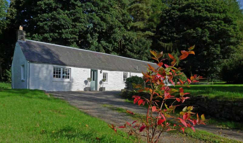 Broomholmknowe Cottage was renovated in 2015 and sits on a private 75 acre fishing estate.