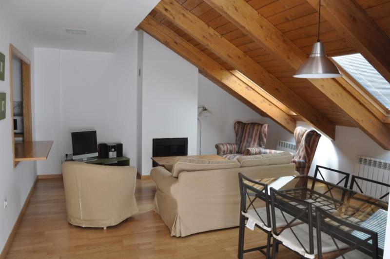 Atico en Jaca, vacation rental in Espuendolas