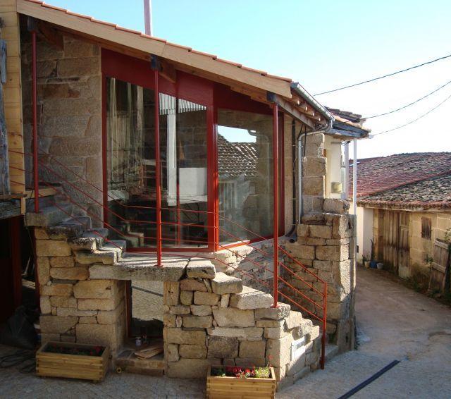 Casa Rural de 2 dormitorios en A Albergueria (Nogu, holiday rental in Sober