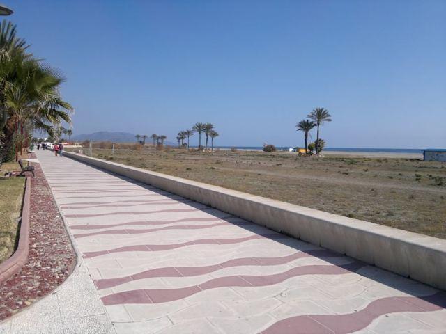 Paseo marítimo Vera/Garrucha