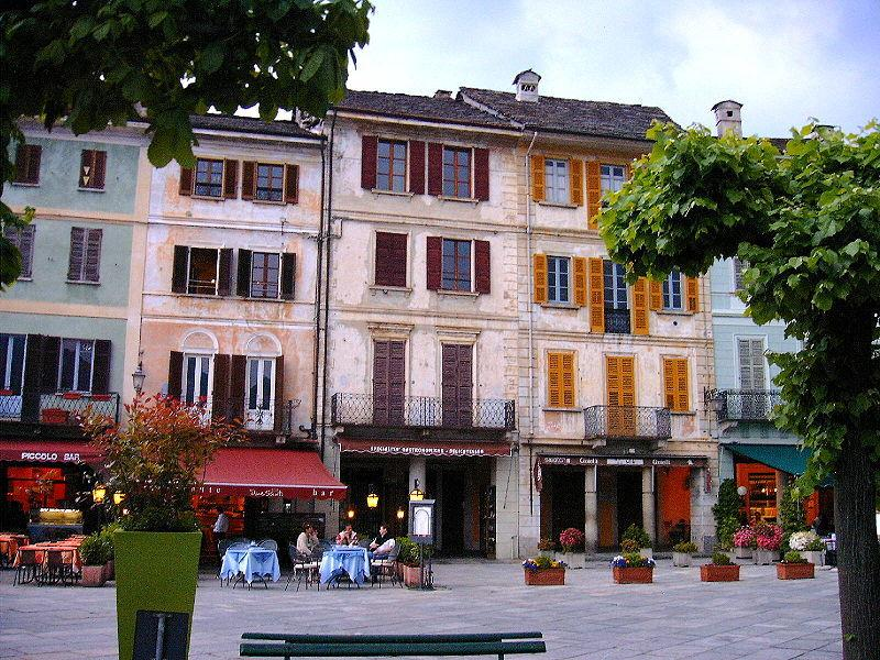Partial view of the Piazza