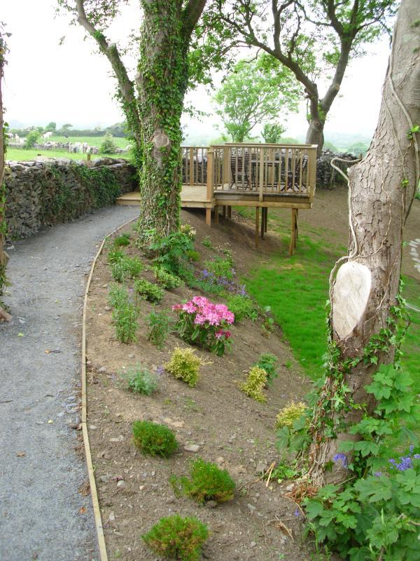 Garden/Decking area