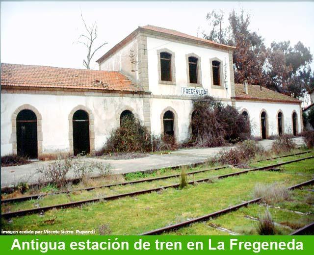 Estación de la Fregeneda. Inicio de la ruta de la vía de la Fregeneda a Barca d'Alva