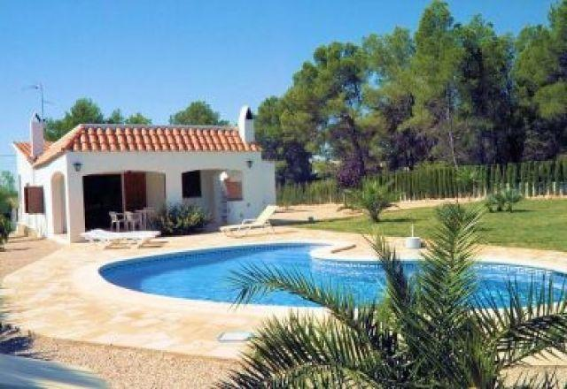 AME331 Chalet 6/8 pers, piscina privada, holiday rental in Terres de l'Ebre