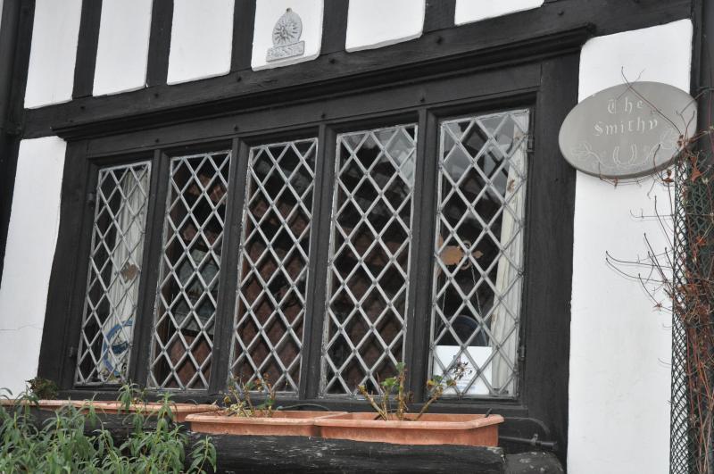 Front window detail