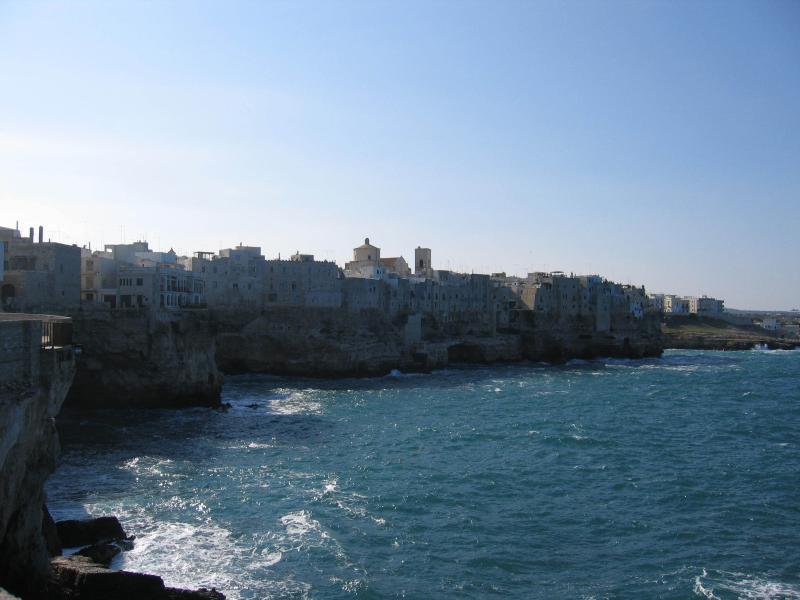 Polignano al Mare, about 40 minutes away