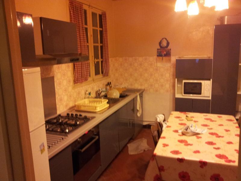 cuisine équipée, vaisselle et plats pour 12, tout le necessaire pour cuisiner