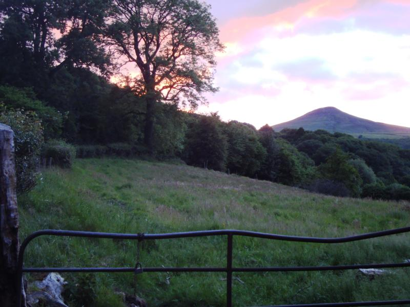 summer sunset over Sugar Loaf