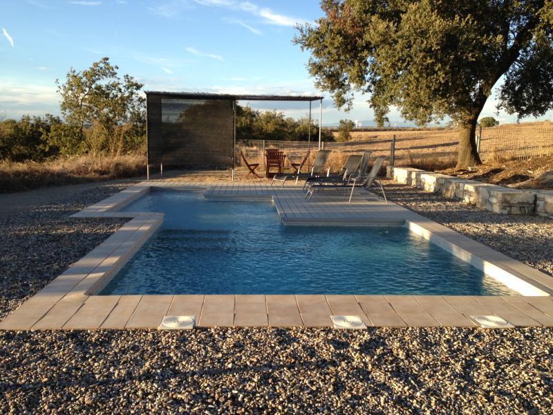 piscina de la propiedad