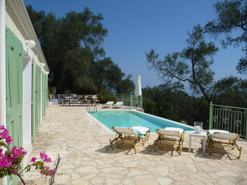 Panos House, vacation rental in Loggos