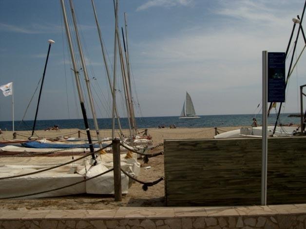 Playa 1ª linea, Bonito y Nuevo, location de vacances à Cambrils