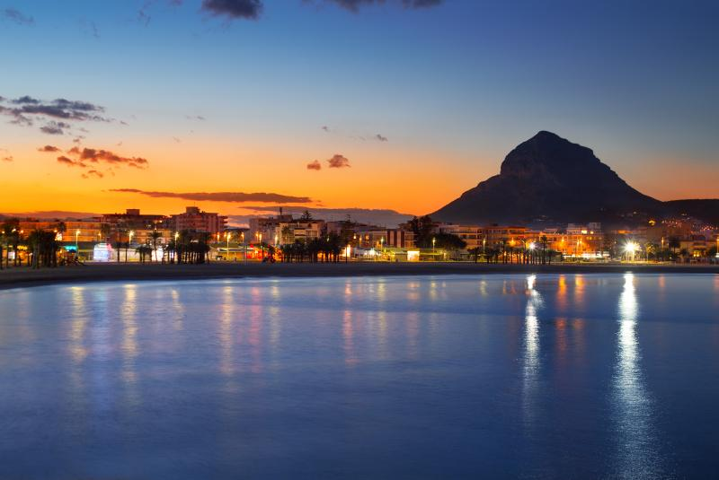 Arenal at night, on just 5 minutes walking distance!