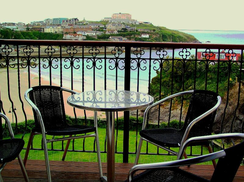 Balcony Overlooking the Beach
