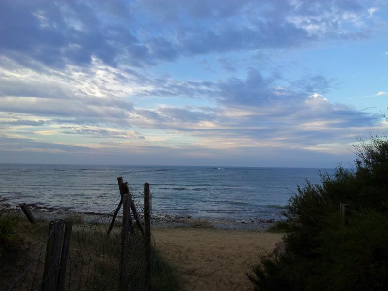 accés à pieds à la côte sauvage à 50 métres et au phare des Baleines à 1000 métres
