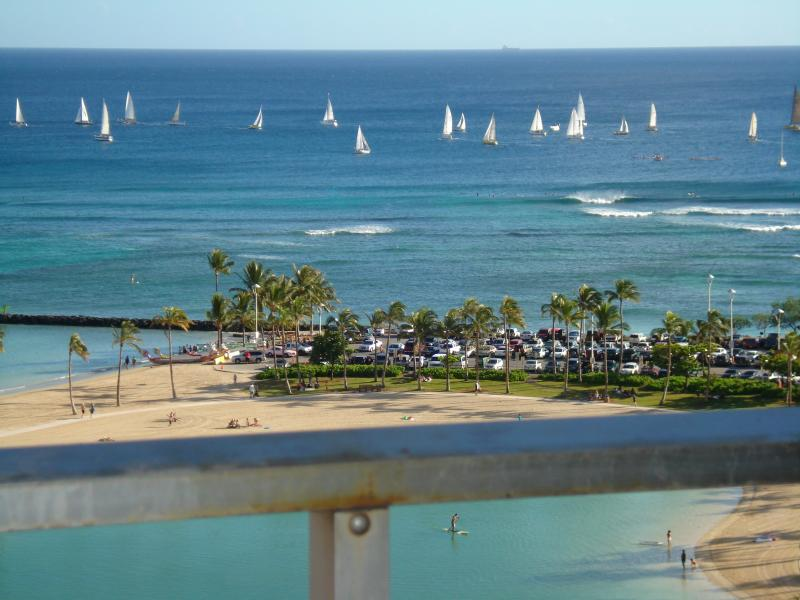 Watch The Sail Boats From Your Balconies