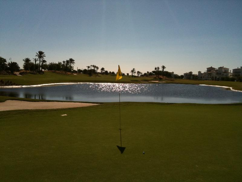 Golf lakes and water features