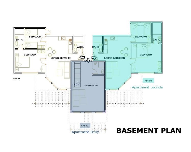 floor plan Apartment Emily