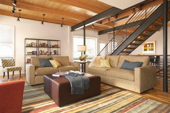Blackhawk Townhomes Living Room - BH14