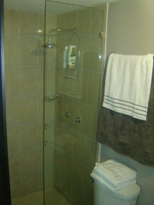 Bathroom-includes hot water