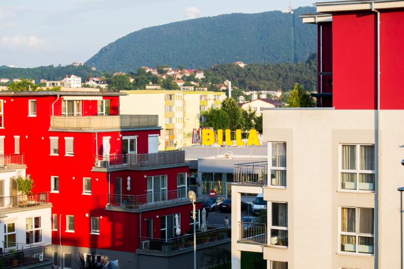 Yellow penthouse